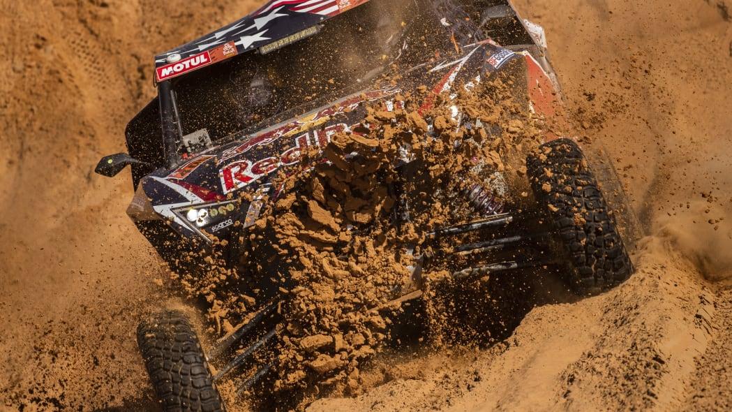 APTOPIX Saudi Dakar Rally