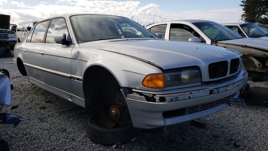 Junkyard Gem: 1998 BMW 740iL