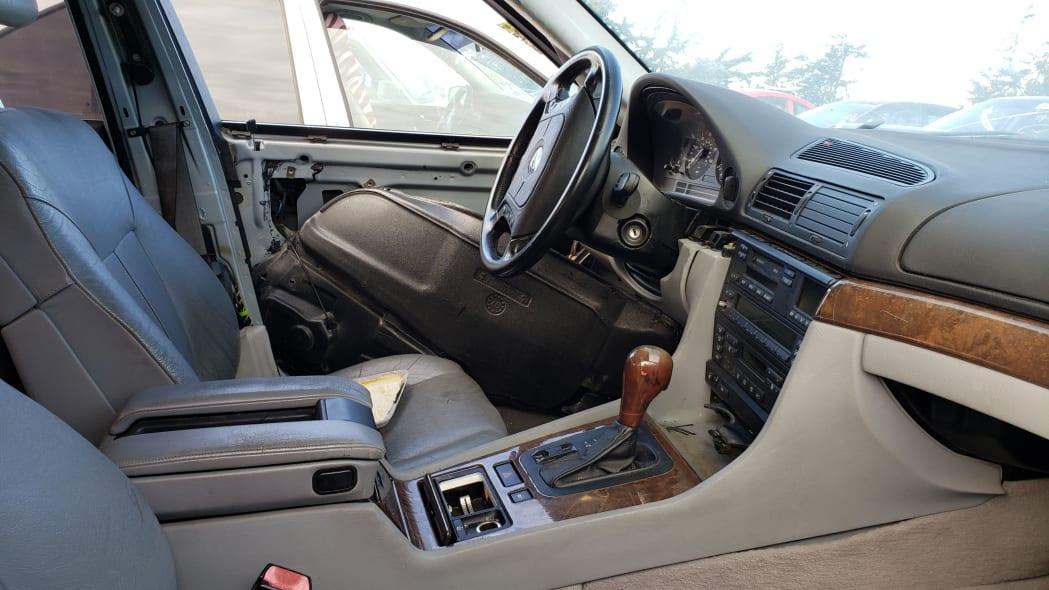 21 - 1998 BMW 740iL in California junkyard - photo by Murilee Martin
