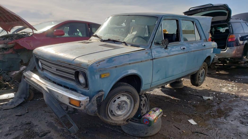 00 - 1979 Fiat 128 in Colorado junkyard - photo by Murilee Martin