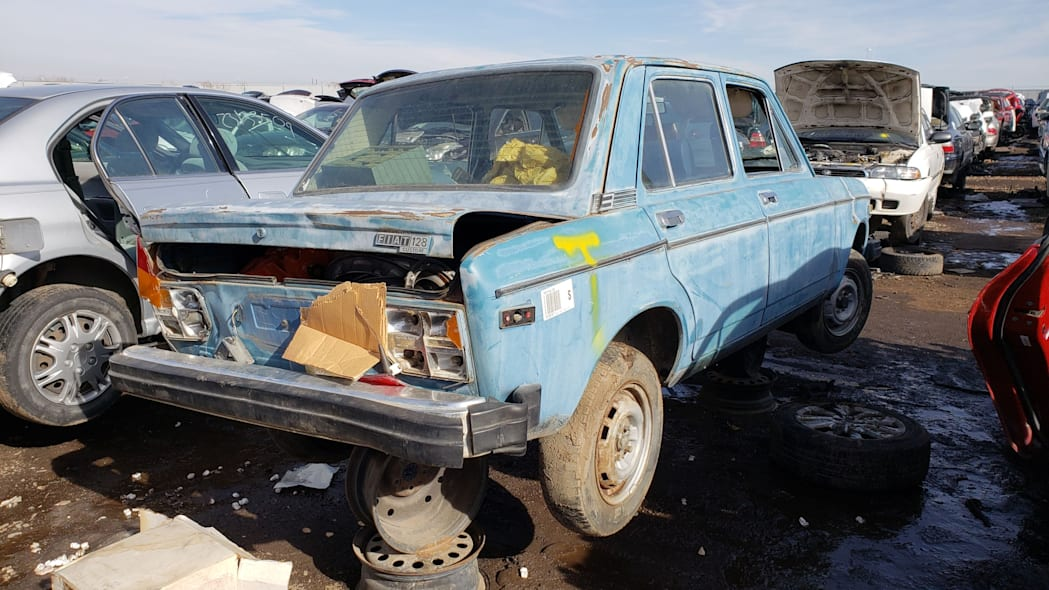 42 - 1979 Fiat 128 in Colorado junkyard - photo by Murilee Martin