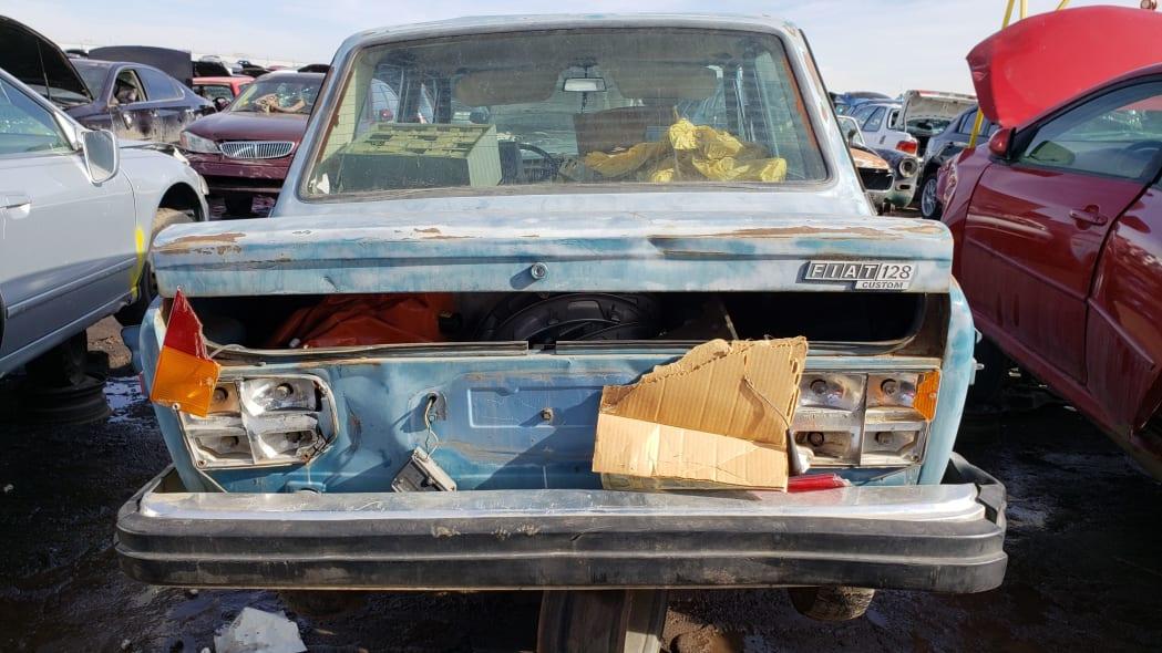 43 - 1979 Fiat 128 in Colorado junkyard - photo by Murilee Martin