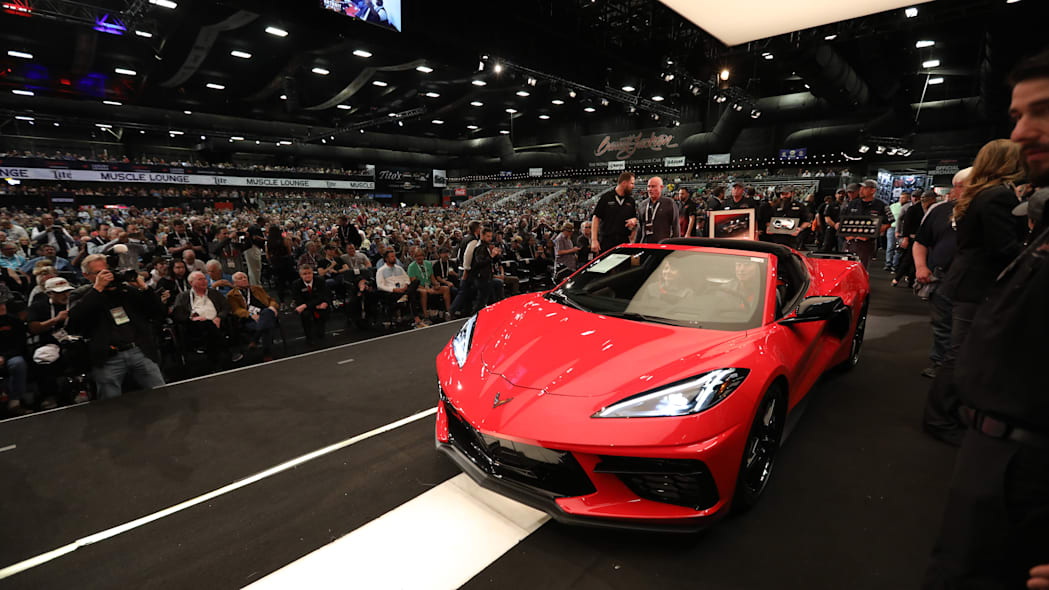 The most expensive cars at Barrett-Jackson's 2020 Scottsdale auction
