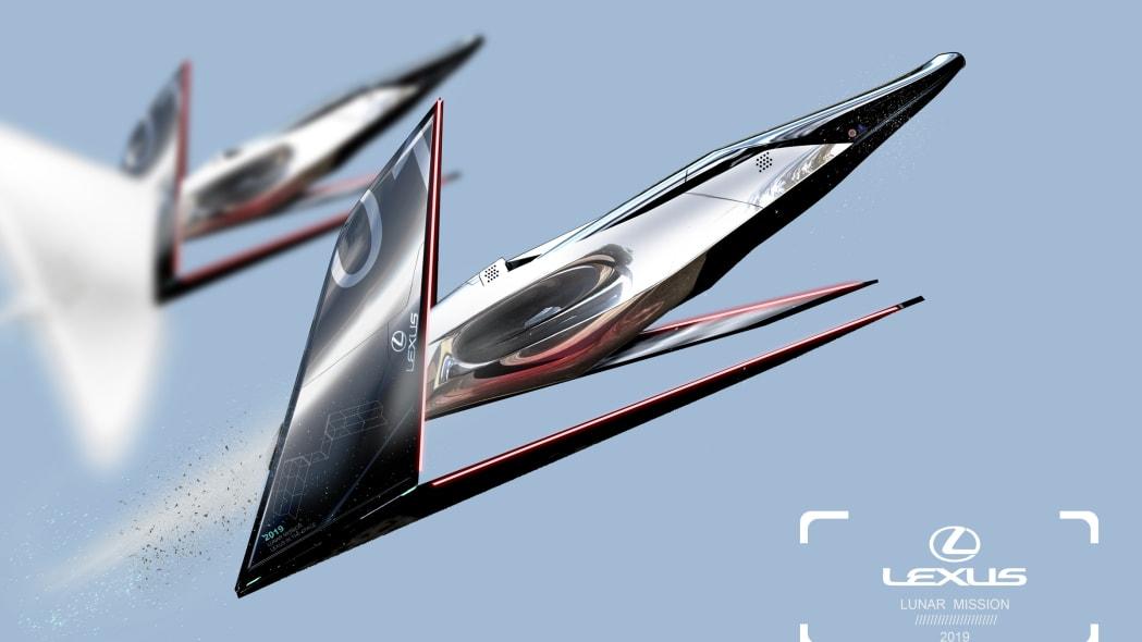 Lexus Lunar Transport Designs