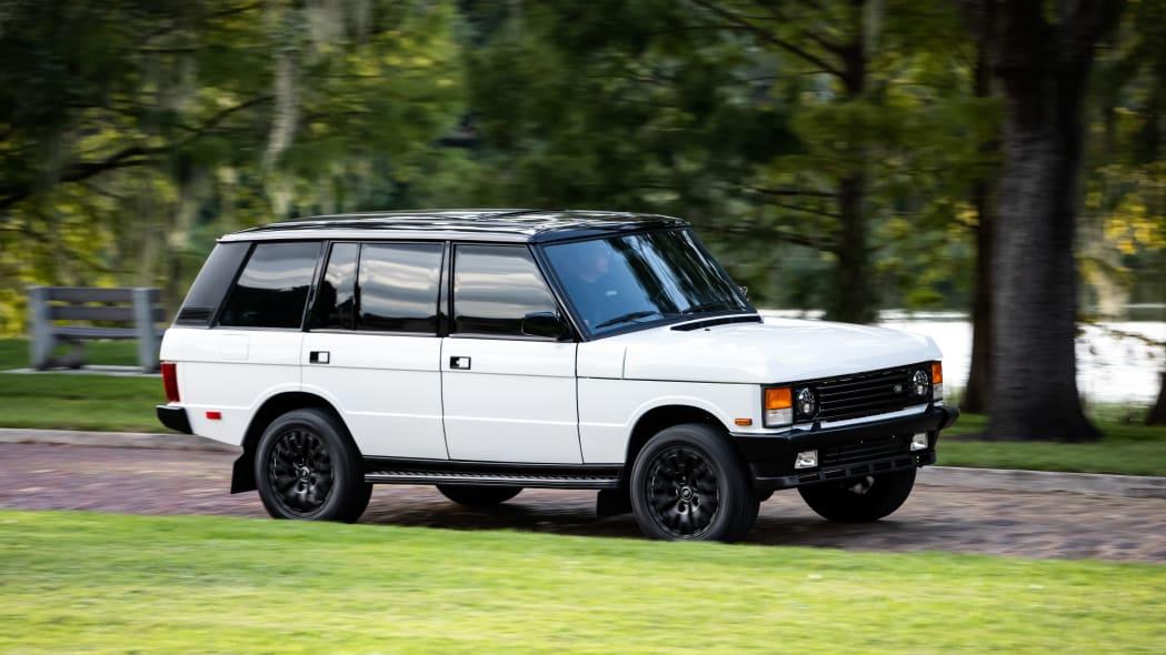 Resto-modded Range Rover