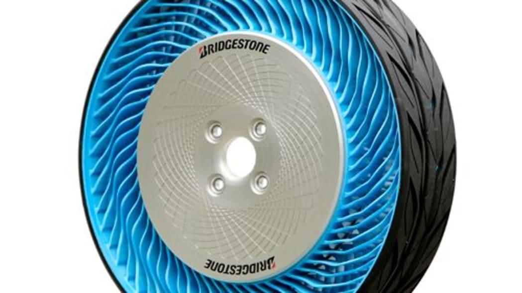 Bridgestone concept air free tire