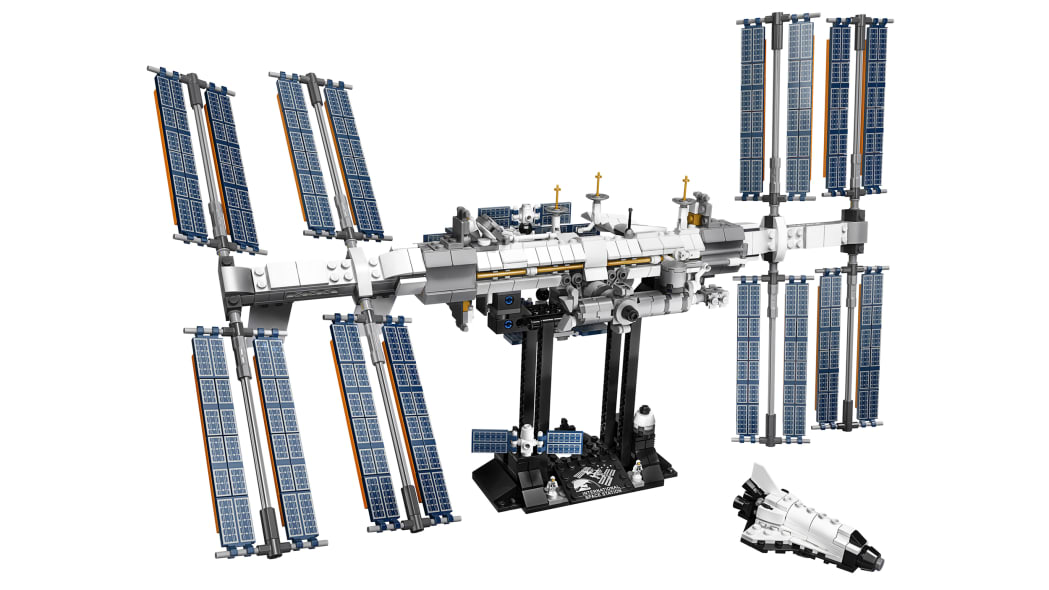 A Lego International Space Station kit is on the way