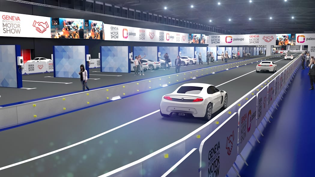 2020 Geneva Motor Show will feature an indoor race track