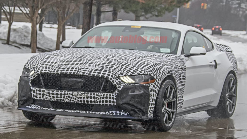 Spied: Is this the Ford Mustang Mach 1 we've been expecting?