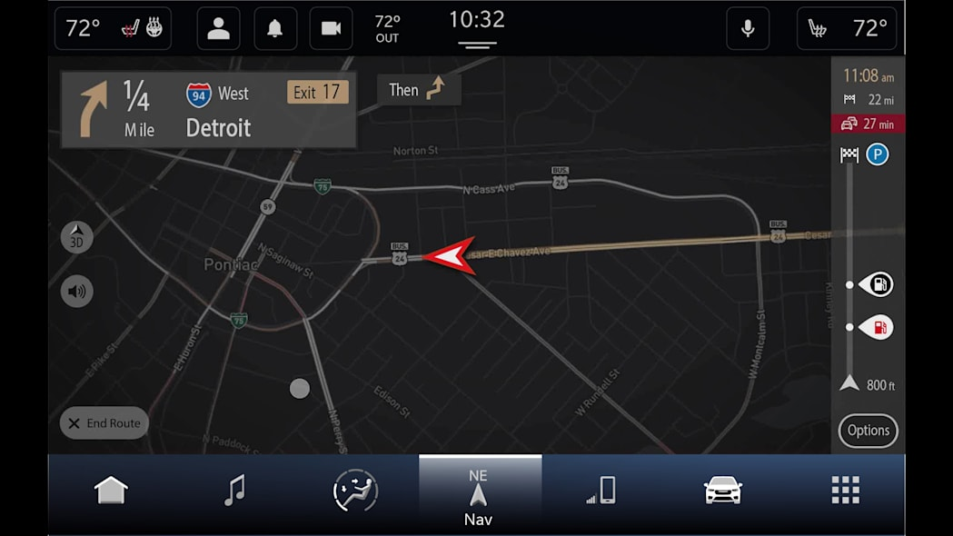 All new Uconnect 5 with TomTom navigation and Maps Over the Air