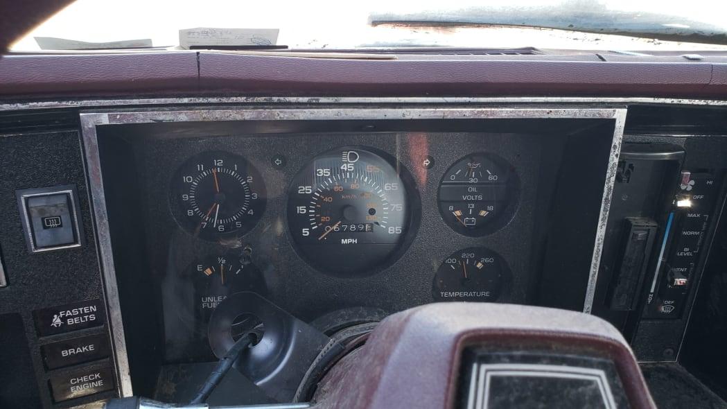 05 - 1981 Chevrolet Citation in Colorado junkyard - photo by Murilee Martin