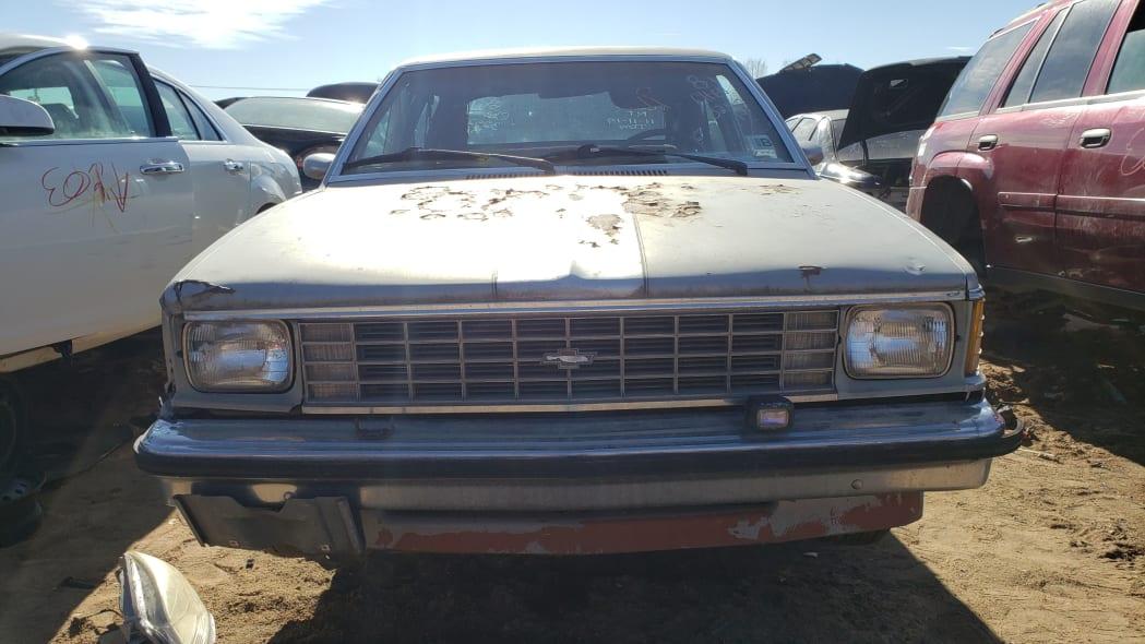 25 - 1981 Chevrolet Citation in Colorado junkyard - photo by Murilee Martin