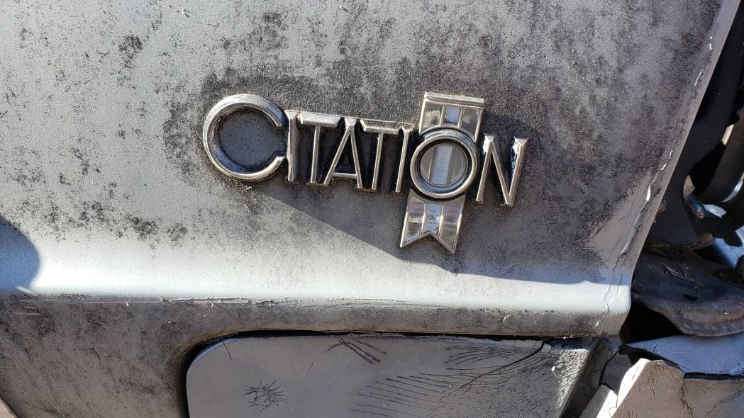 29 - 1981 Chevrolet Citation in Colorado junkyard - photo by Murilee Martin