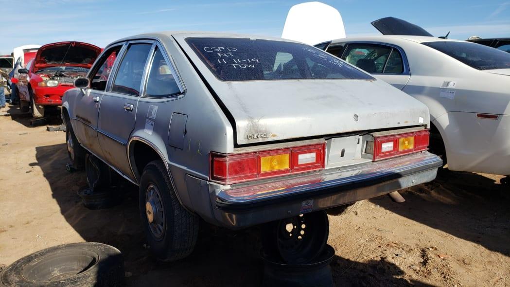 52 - 1981 Chevrolet Citation in Colorado junkyard - photo by Murilee Martin