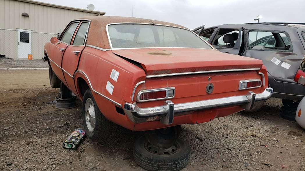 57 - 1973 Ford Maverick in Colorado junkyard - Photo by Murilee Martin