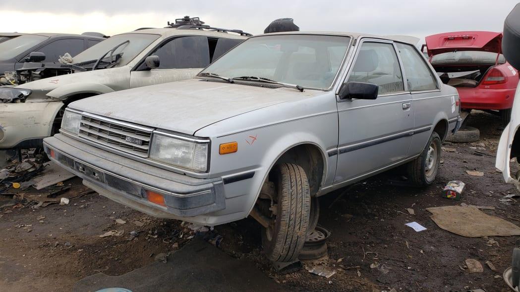 09 - 1986 Nissan Sentra in Colorado junkyard - Photo by Murilee Martin