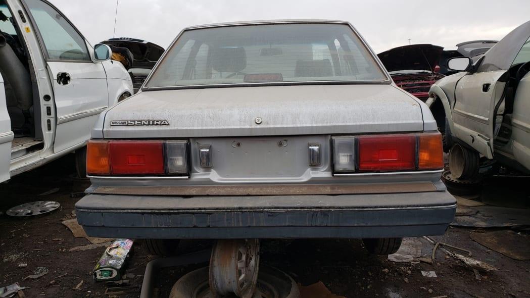 25 - 1986 Nissan Sentra in Colorado junkyard - Photo by Murilee Martin