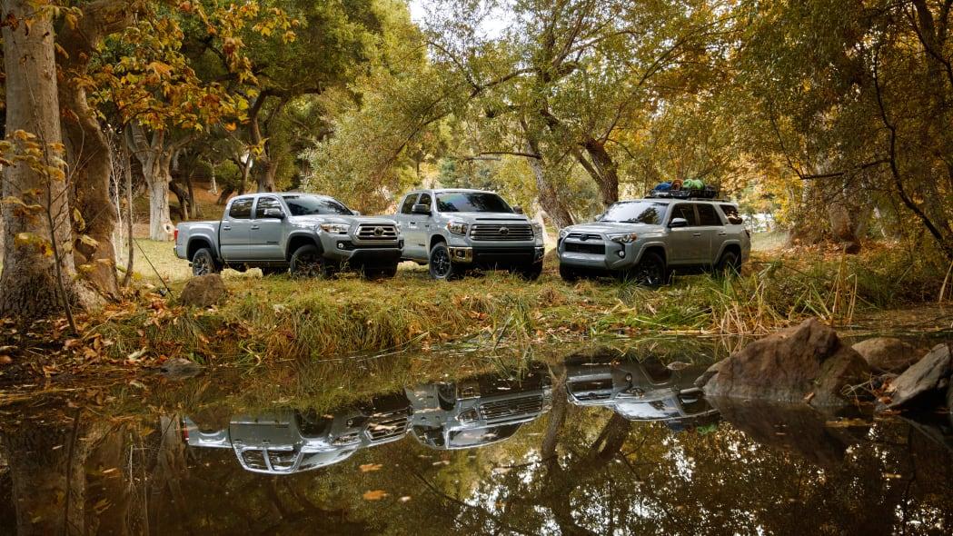 Toyota Trail Edition Tacoma, Tundra, 4Runner add off-road gear