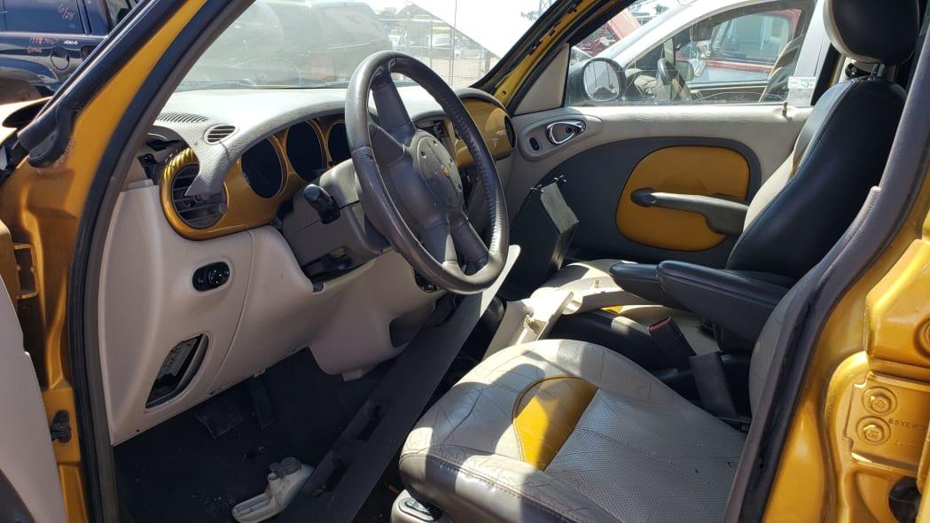 20 - 2002 Chrysler PT Cruiser in Colorado junkyard - Photo by Murilee Martin