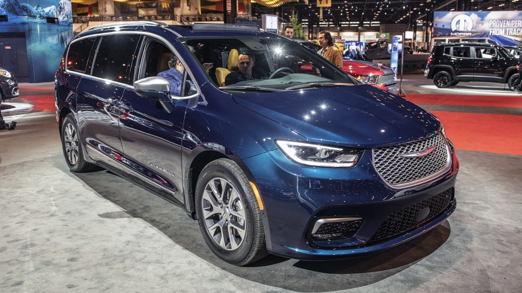 Fourth Place: 2021 Chrysler Pacifica — 31 points