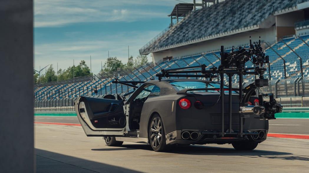 Nissan GT-R Camera Car 1