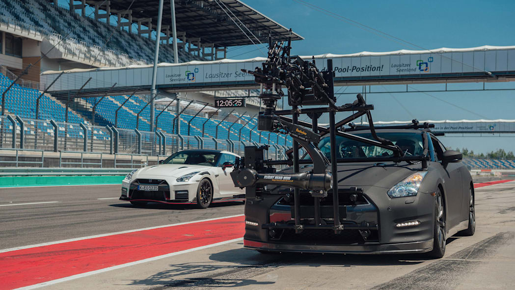 Nissan GT-R Camera Car 11