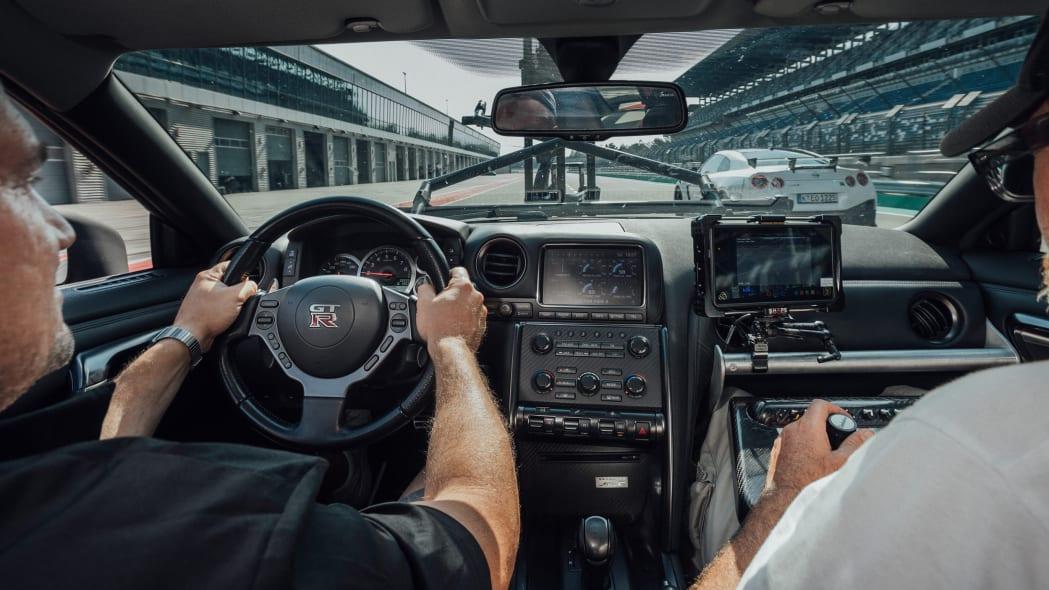 Nissan GT-R Camera Car 12