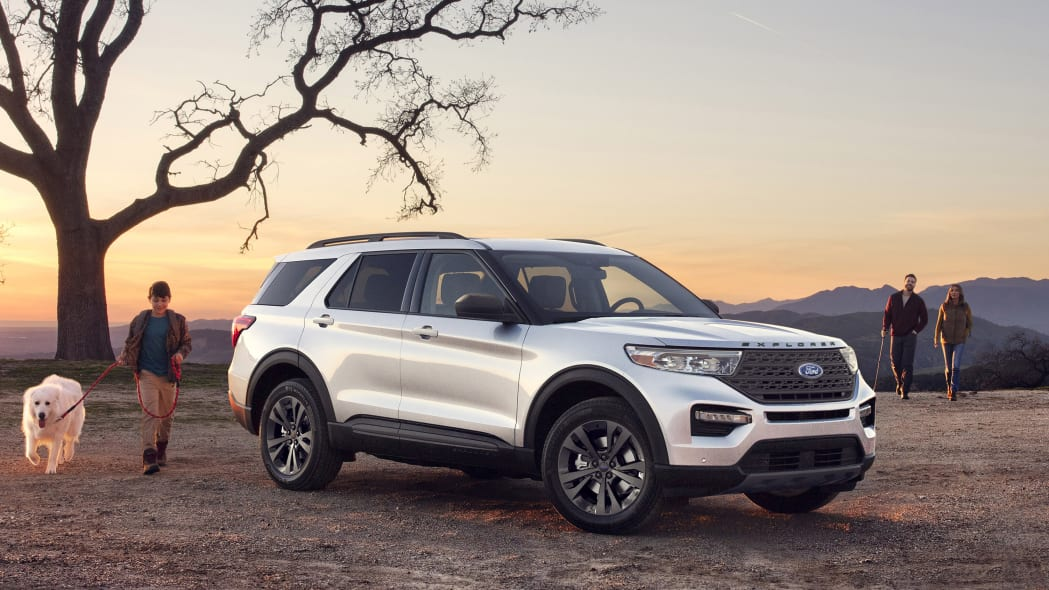 2021 Ford Explorer XLT Appearance Package