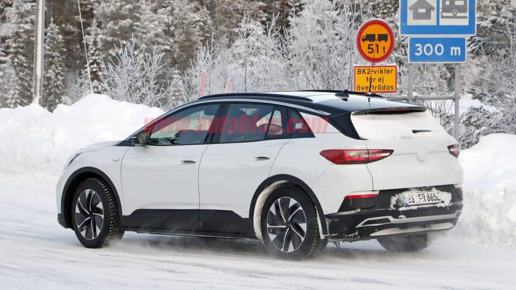 Volkswagen ID.4 spied