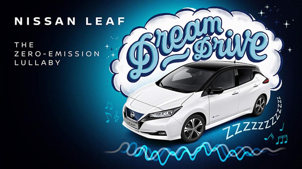 Nissan LEAF Dream Drive rocks your baby to sleep