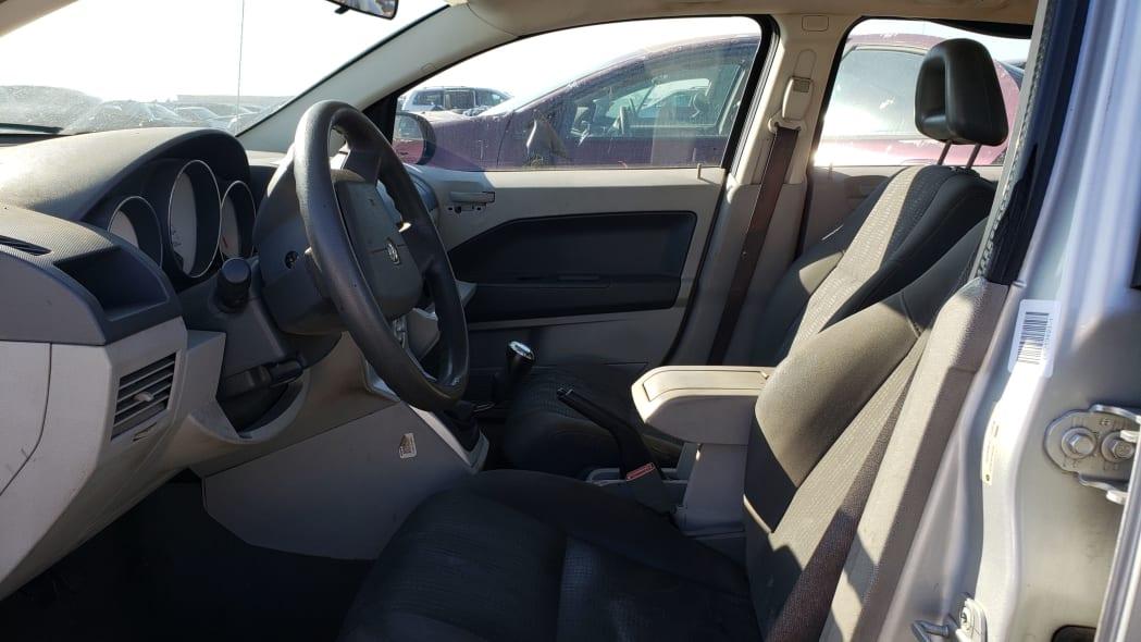 08 - 2007 Dodge Caliber in California junkyard - photo by Murilee Martin