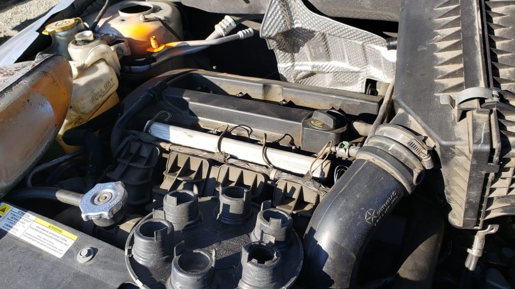 10 - 2007 Dodge Caliber in California junkyard - photo by Murilee Martin