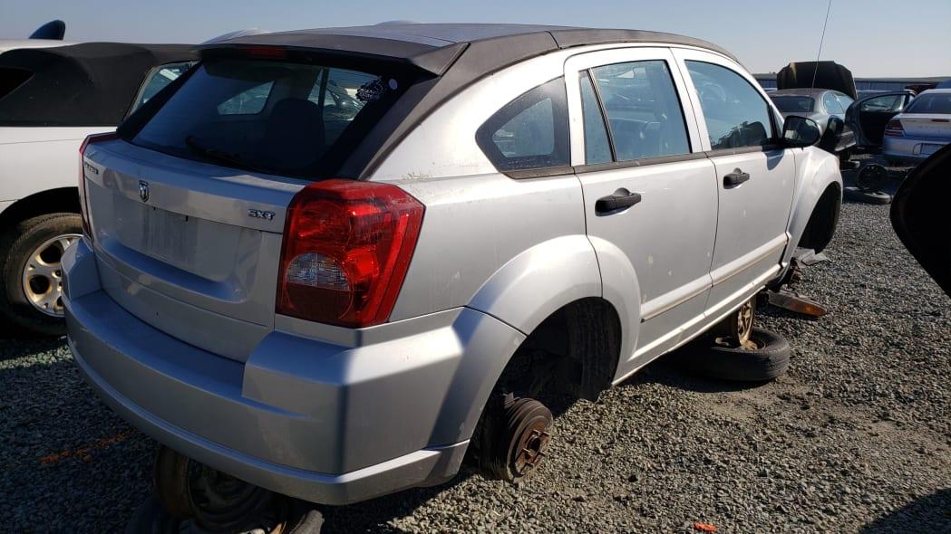 29 - 2007 Dodge Caliber in California junkyard - photo by Murilee Martin