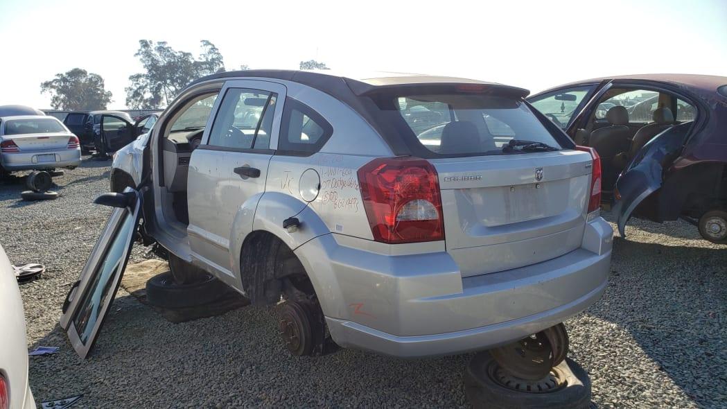 34 - 2007 Dodge Caliber in California junkyard - photo by Murilee Martin