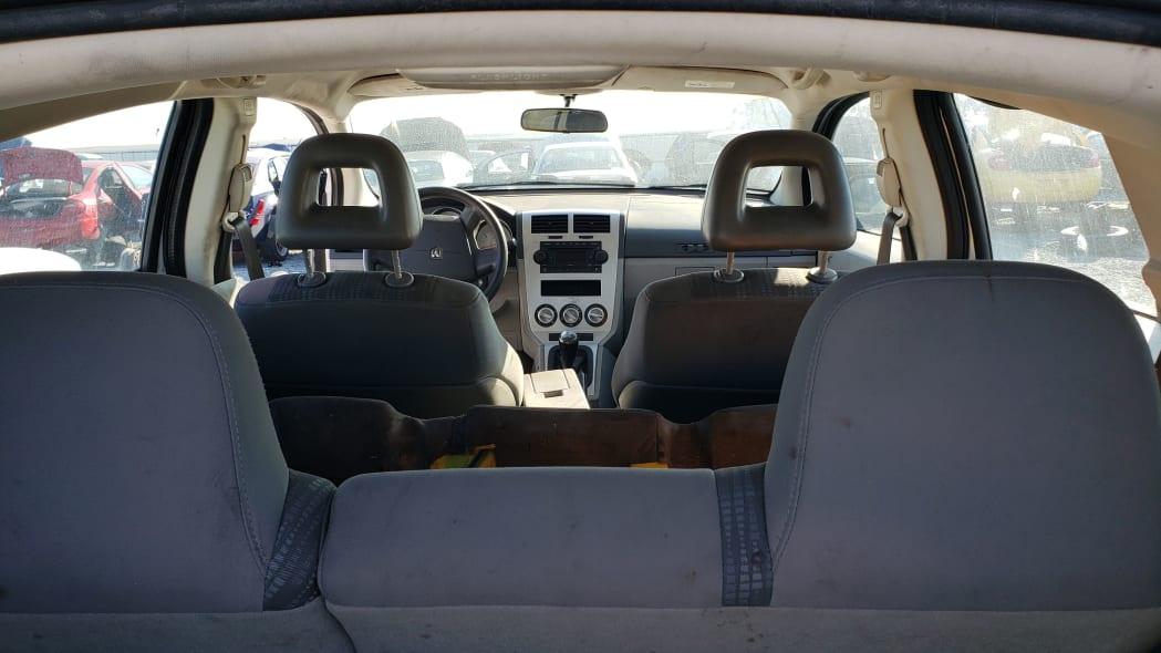 37 - 2007 Dodge Caliber in California junkyard - photo by Murilee Martin