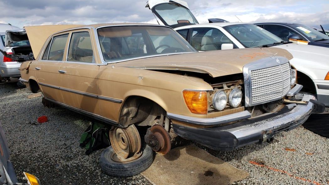 00 - 1974 Mercedes-Benz 450SEL W116 in California junkyard - photo by Murilee Martin