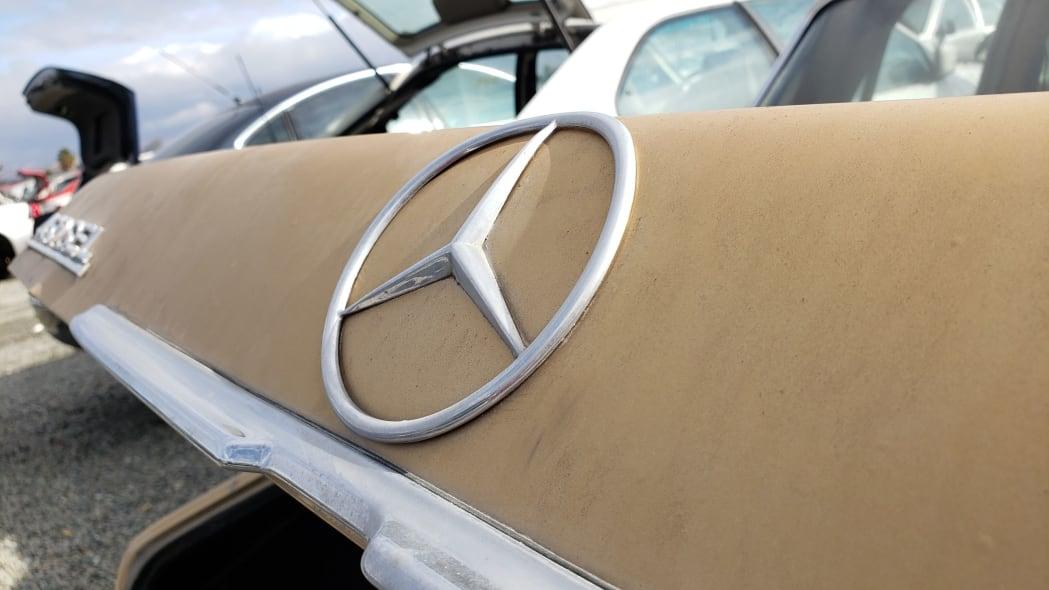15 - 1974 Mercedes-Benz 450SEL W116 in California junkyard - photo by Murilee Martin