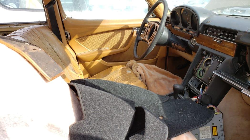 16 - 1974 Mercedes-Benz 450SEL W116 in California junkyard - photo by Murilee Martin