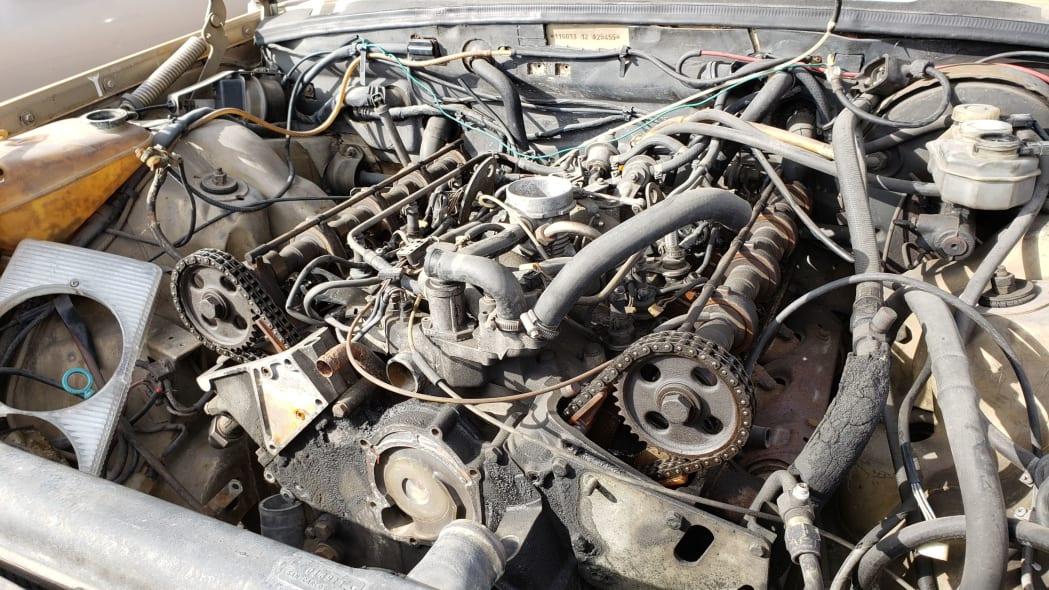 28 - 1974 Mercedes-Benz 450SEL W116 in California junkyard - photo by Murilee Martin