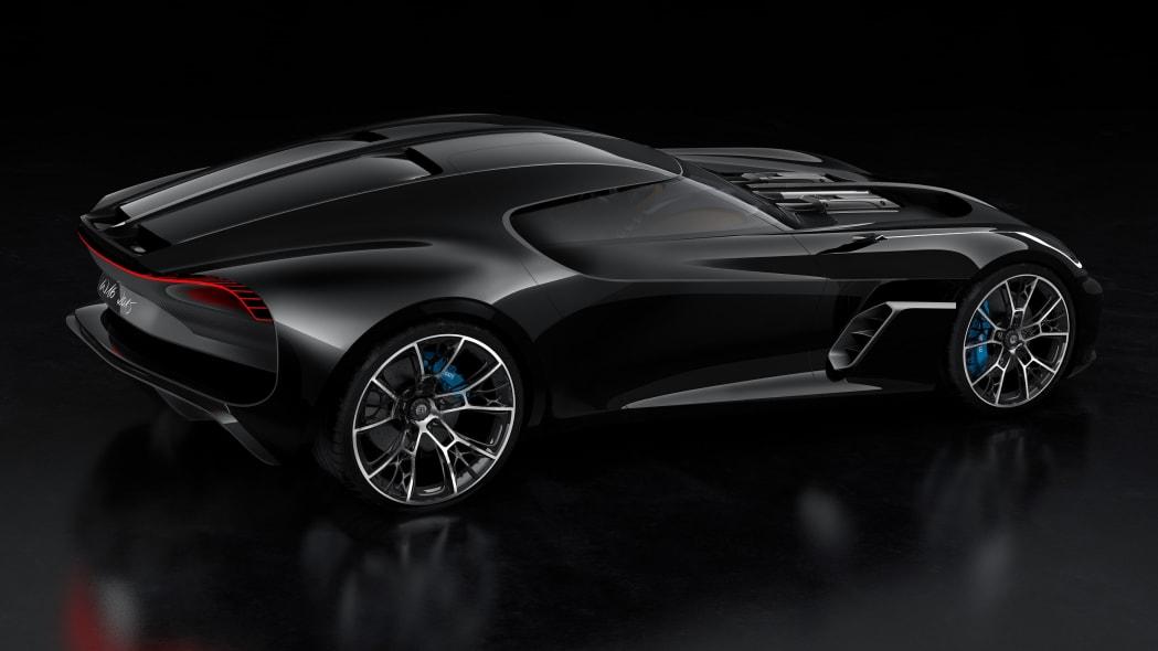 Bugatti W16 coupe