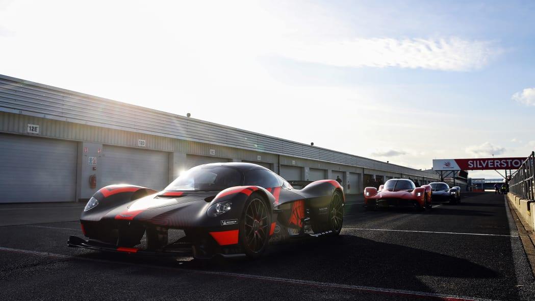 Aston Martin Valkyrie at Silverstone 1