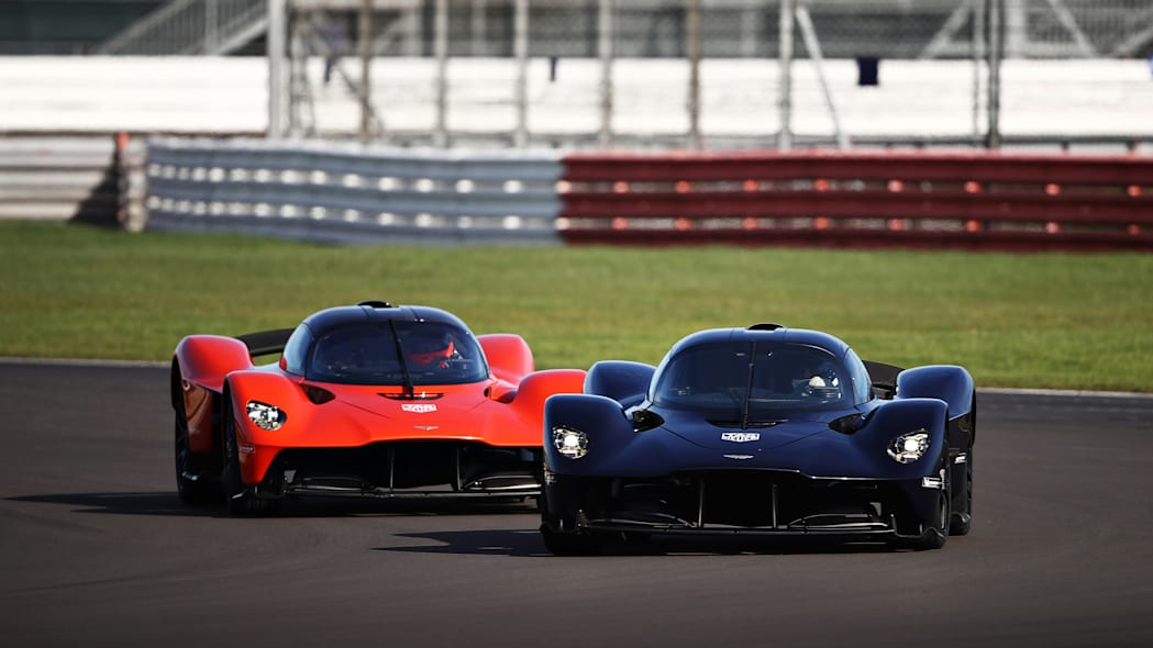 Aston Martin Valkyrie at Silverstone 4