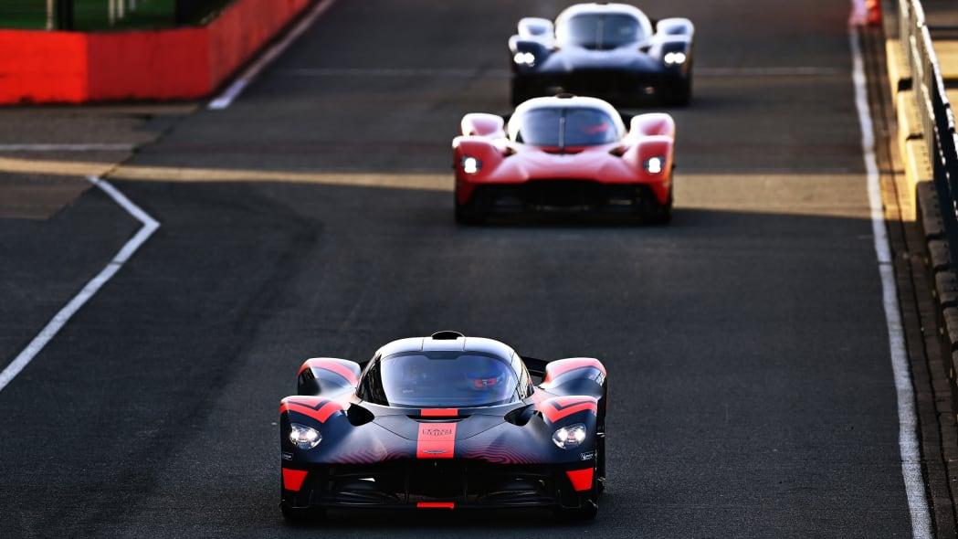 Aston Martin Valkyrie at Silverstone 8