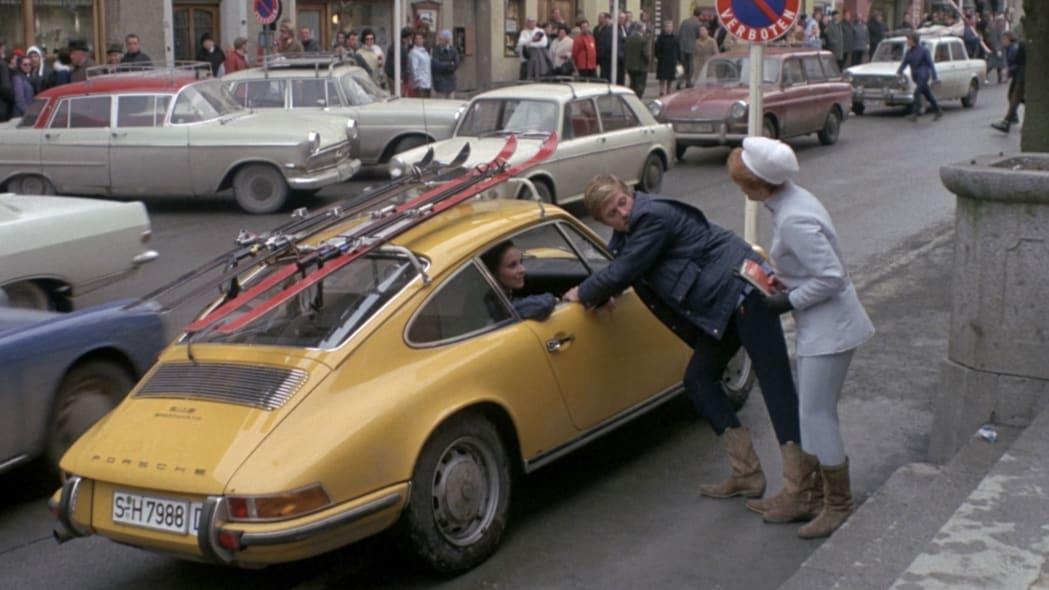 """""""Downhill Racer,"""" 1968 Porsche 911T"""