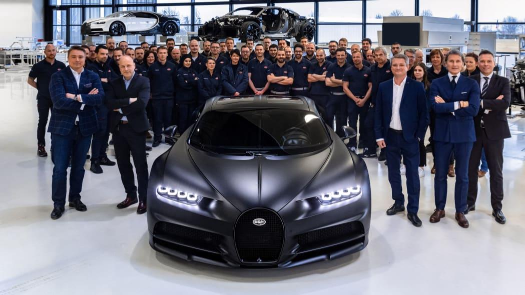 Bugatti Chiron Sport Edition Noire Sportive 7