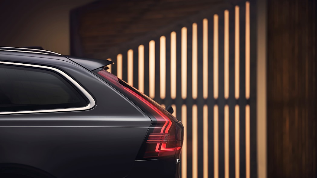 Studio images - the refreshed Volvo V90 Recharge
