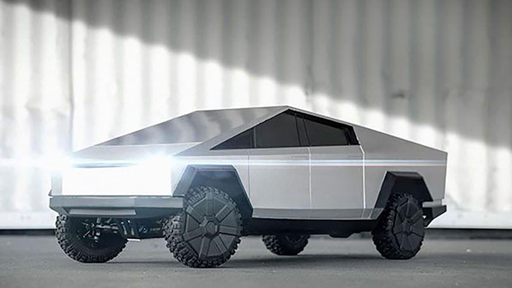 Hot Wheels Tesla Cybertruck RC Car 6