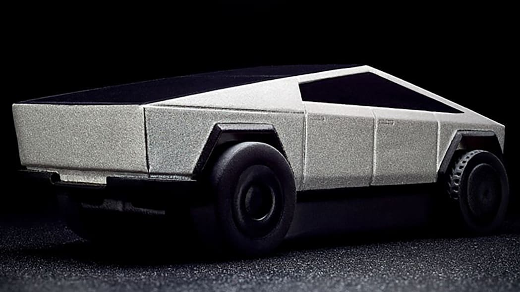 Hot Wheels Tesla Cybertruck RC Car 7