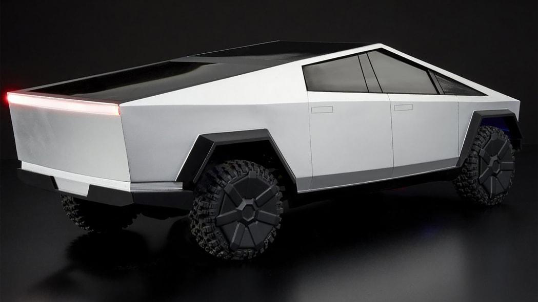 Hot Wheels Tesla Cybertruck RC Car 11