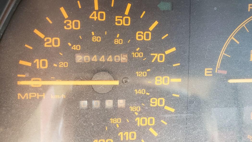 06 - 1986 Mazda 323 in California junkyard - photo by Murilee Martin